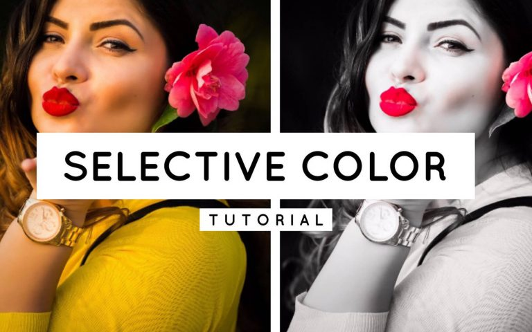 How to create selective color in Lightroom