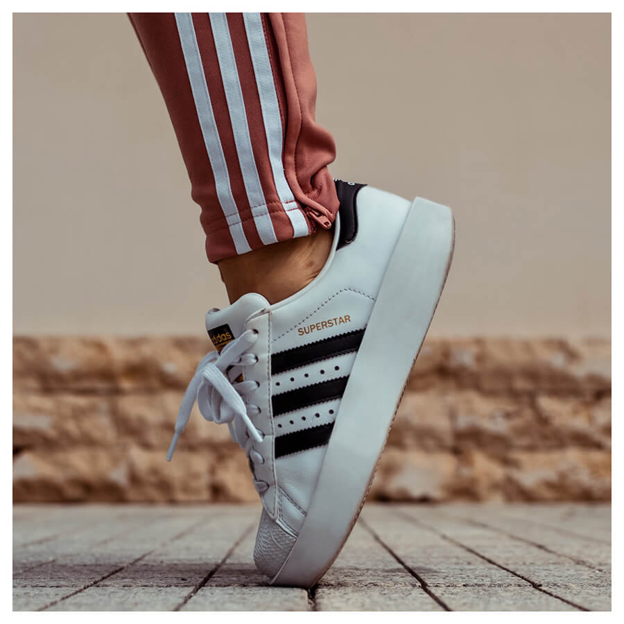 Fashion Lover Lightroom Preset Filters Adidas shoes and outfit for fashion bloggers before