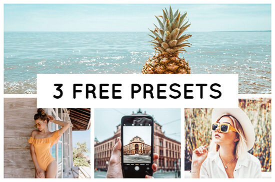 Lightroom Presets for free, edit your pictures with the free Pixgrade Lightroom Presets for mobile
