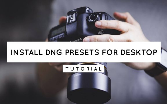 How To Use Mobile DNG Presets on Lightroom Desktop