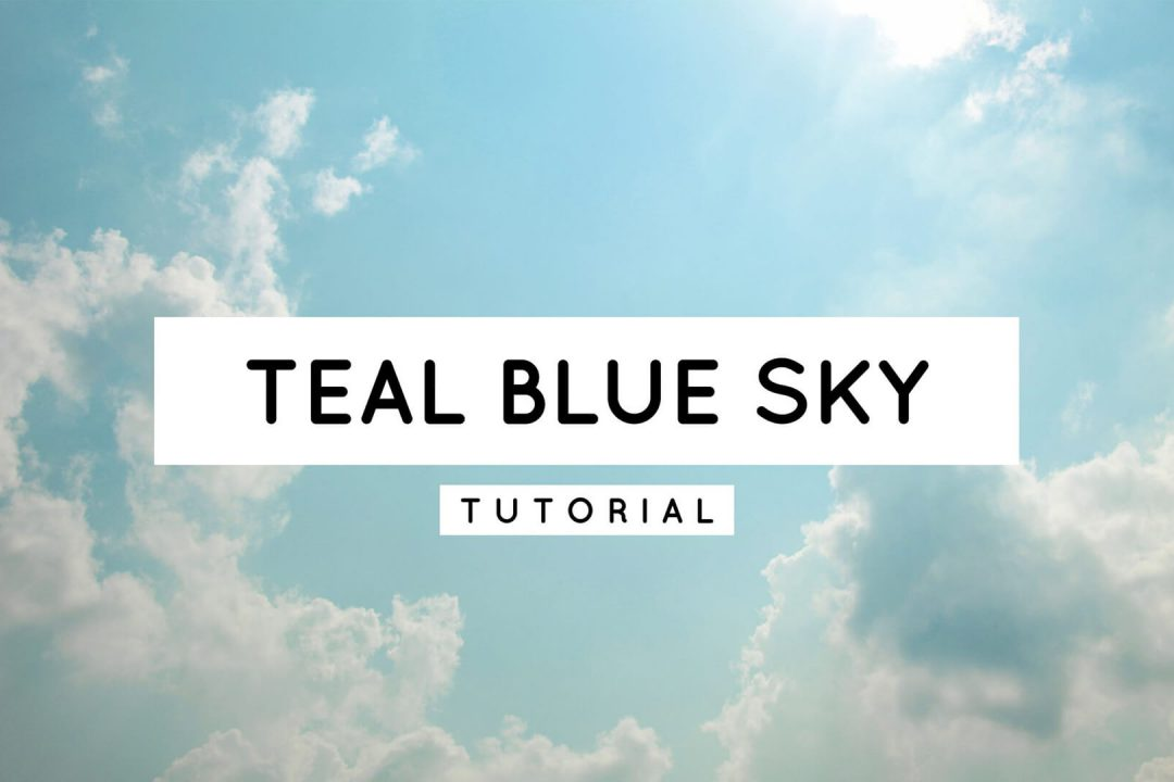 How To Create a Perfect Teal Blue Sky in Lightroom Mobile