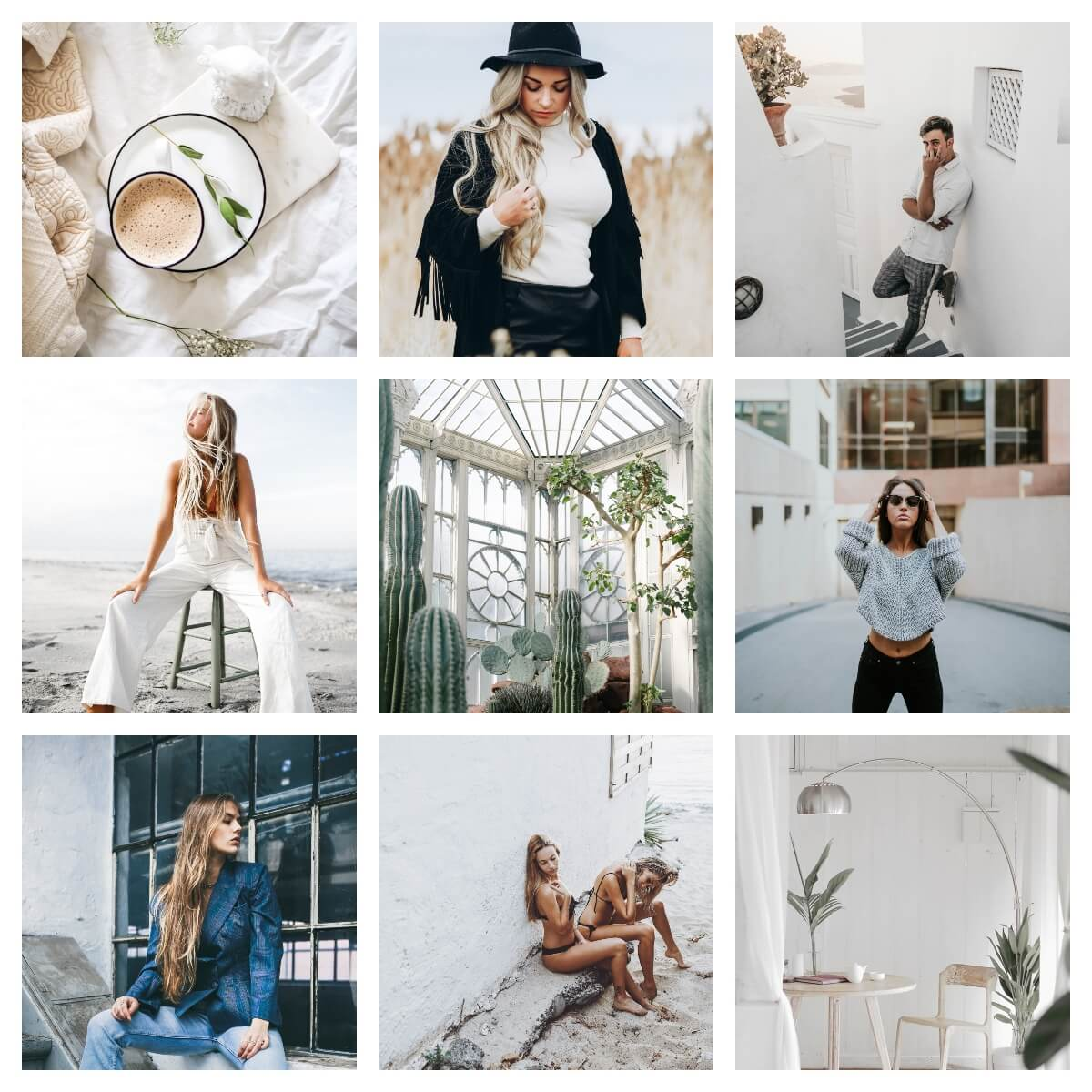 Pixgrade Lightroom Presets Minimal Whites Moodboard Before