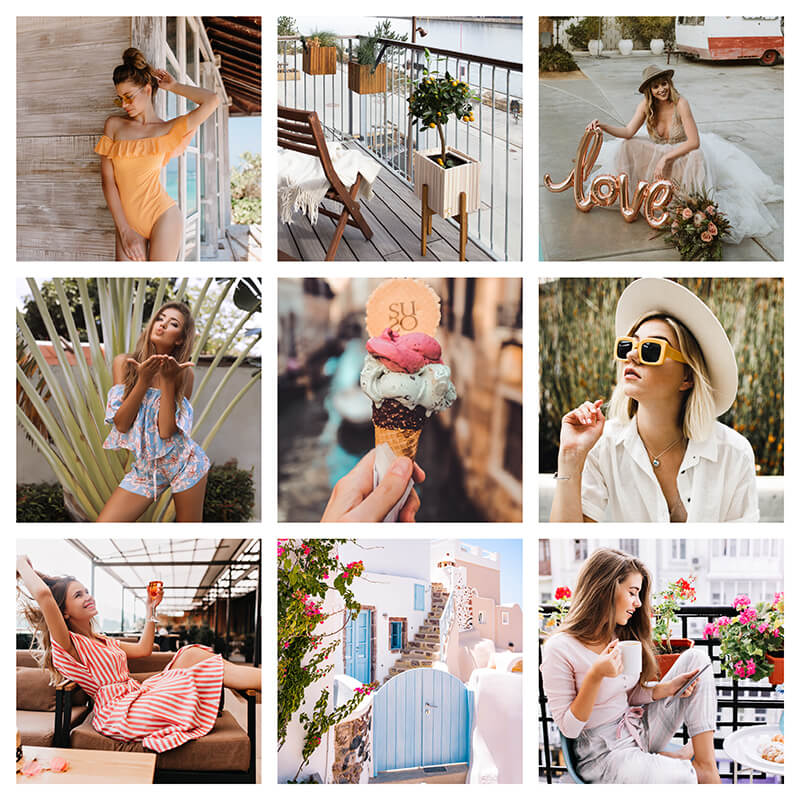 Pixgrade Lightroom Presets Summer Glow Moodboard Before