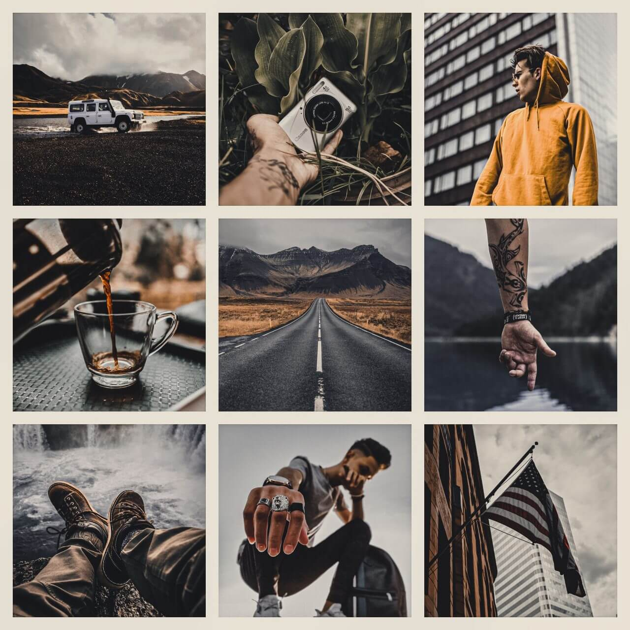 Pixgrade moody For Men Moodboard After