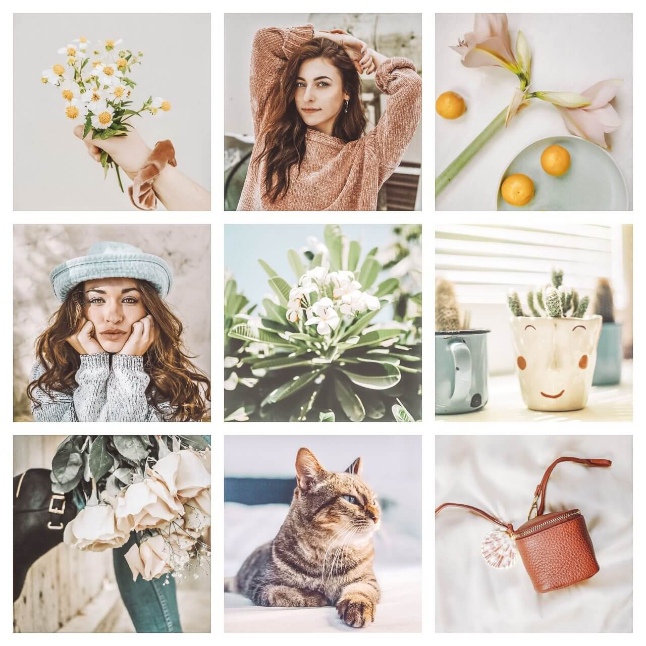 Spring Lights Lightroom Presets Moodboard