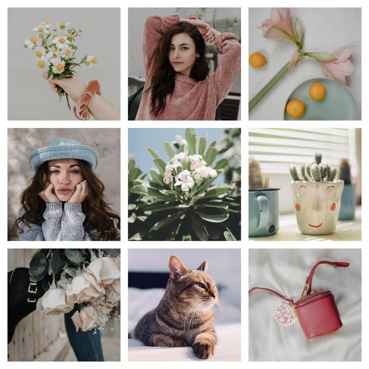 Spring Bundle Lightroom Presets moodboard before