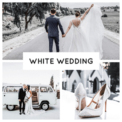 Pixgrade White wedding Lightroom Presets product picture