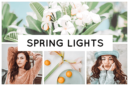 Spring Lights Lightroom Presets Header