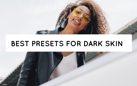 Blog Header best presets for Dark Skin