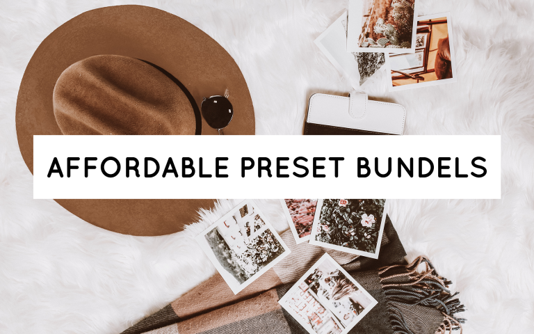 Affordable Preset Bundles