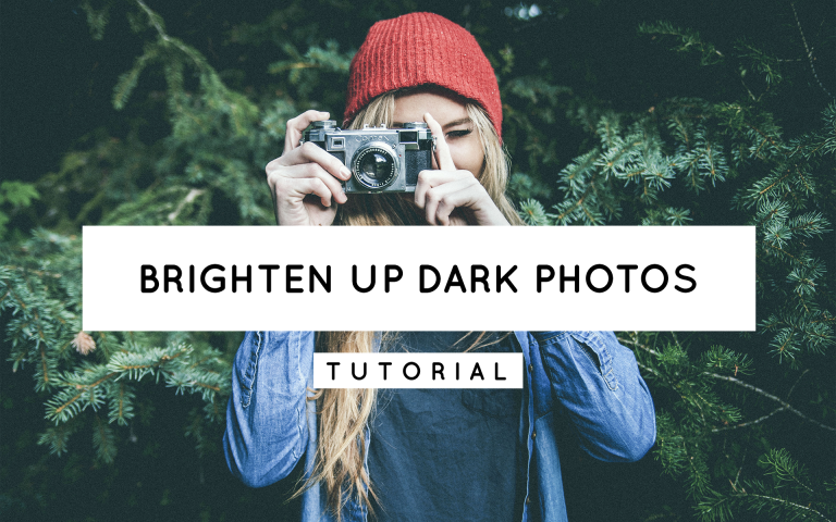 How to Brighten up Dark Photos in Lightroom